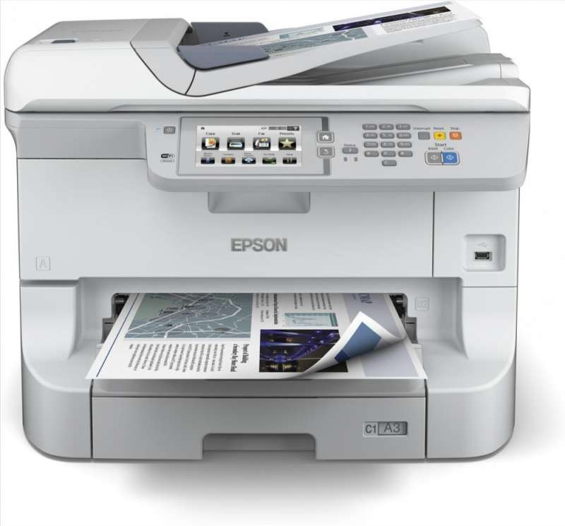 Мастилоструйно многофункционално устройство, Epson WorkForce Pro WF-8510 DWF
